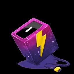 Box Electricity Sticker