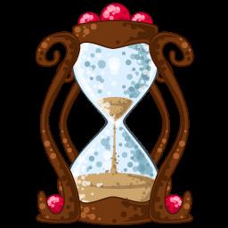 Hourglass Sticker