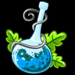 Poison Blue Sticker
