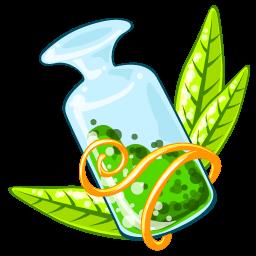 Poison Green Sticker