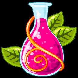 Poison Red Sticker