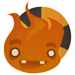 Burn Sticker