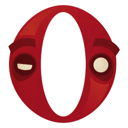 Opera Sticker