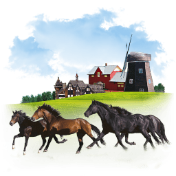 Animals Horses Sticker