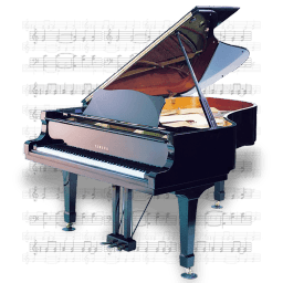Music Piano Sticker