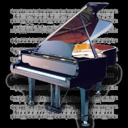 Music Piano Sticker