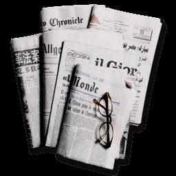 Newspapers 2 Sticker