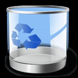 Recycle Bin Empty Sticker