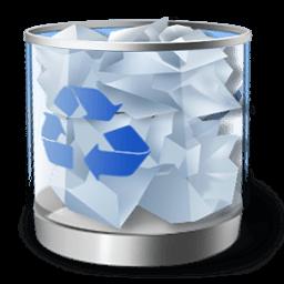 Recycle Bin Full Sticker