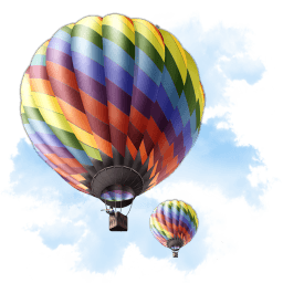 Travel Baloon Sticker