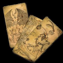 Tarot Set Sticker