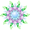 Symbol Purpel Sticker