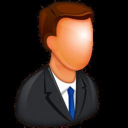 Caucasian Boss Sticker