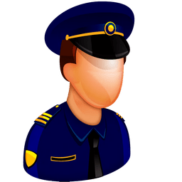 Police Officer Sticker