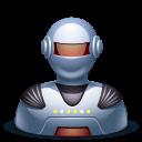 Robot Male Sticker