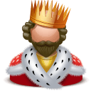 Royal King Sticker