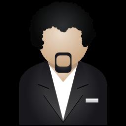 Black Man Sticker