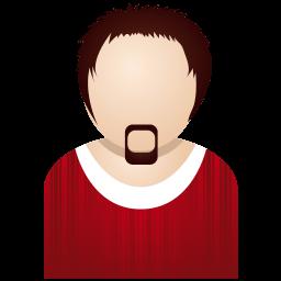 Red Man Sticker