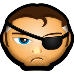 Nick Fury Sticker