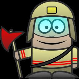 Firefighter Sticker