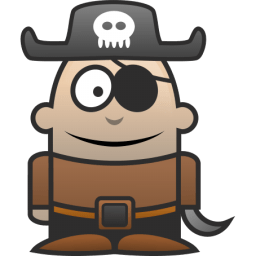 Pirate Sticker
