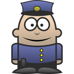 Policeman Sticker
