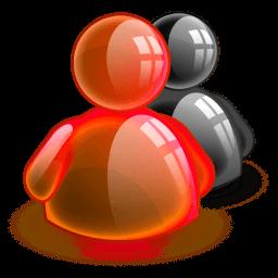 Default Red Sticker