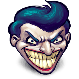 Batman Joker Sticker