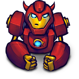 Hero Red 2 Sticker