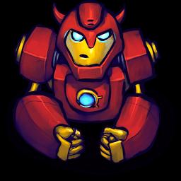 Hero Red 2 Sticker