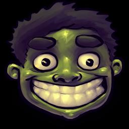 Hulk Happy Sticker
