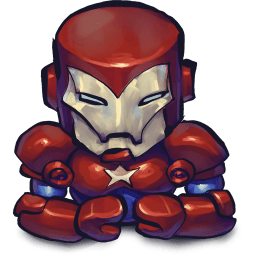 Iron Man Patriot Sticker