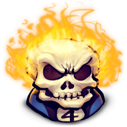 Johnny Blaze Sticker