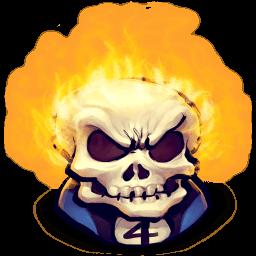 Johnny Blaze Sticker