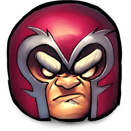 X-men Magneto Sticker