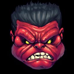 Rulk Angry Sticker