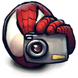 Spiderman Cam Sticker