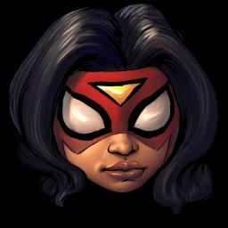 Spiderwoman Sticker