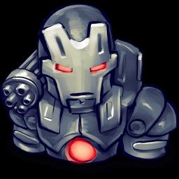 Iron Man War Machine Sticker