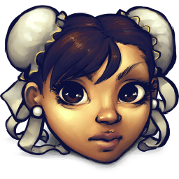 Street Fighter Chun Li Sticker