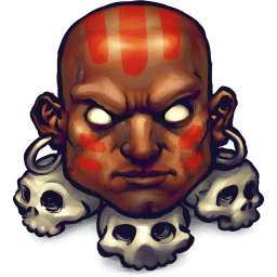 Street Fighter Dhalsim Sticker