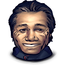 Captain Adama Sticker