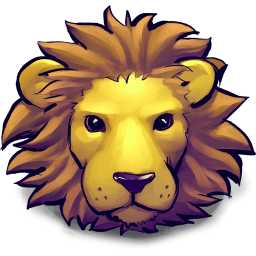 Young Lion Sticker