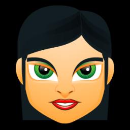 Female Face Fc 3 Sticker