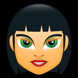 Female Face Fc 4 Sticker