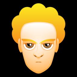 Male Face L1 Sticker