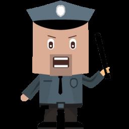 Cop Sticker