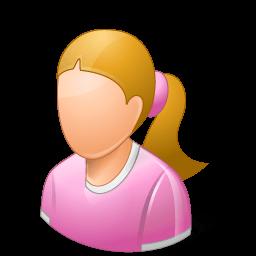 Age Child Female Light Sticker
