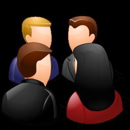 Groups Meeting Light Sticker