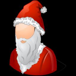 Historical Santa Claus Male Sticker
